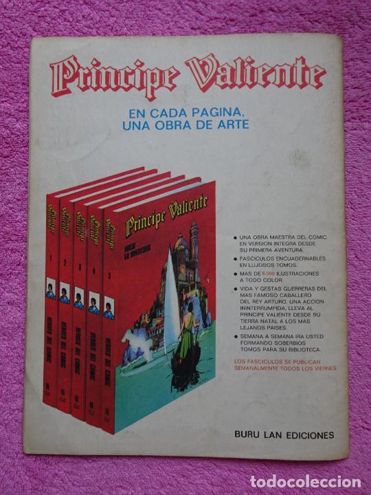 Cómics: príncipe valiente 2 la emboscada héroes del comic ediciones buru lan 1972 - Foto 7 - 287059858