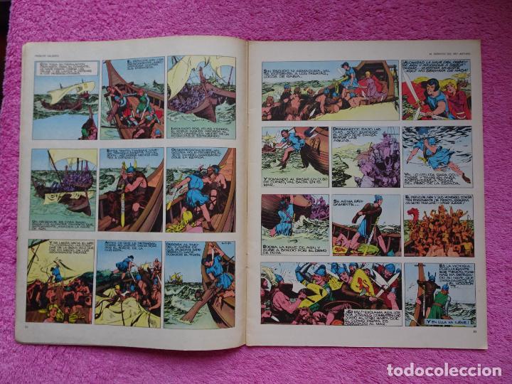 Cómics: príncipe valiente 5 el torneo héroes del comic ediciones buru lan 1972 - Foto 4 - 287061043