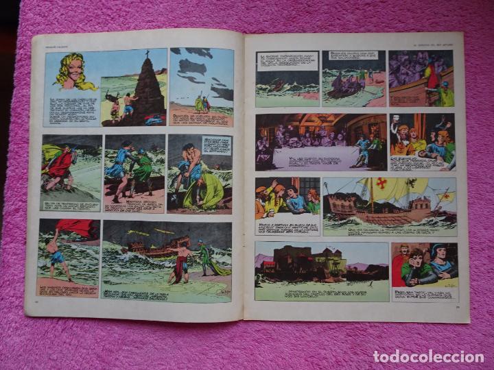 Cómics: príncipe valiente 5 el torneo héroes del comic ediciones buru lan 1972 - Foto 5 - 287061043