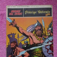 Cómics: PRÍNCIPE VALIENTE 6 LA INVASIÓN DE LOS SAJONES HÉROES DEL COMIC EDICIONES BURU LAN 1972. Lote 287061348