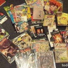 Cómics: GRAN LOTE 220 ARTICULOS VARIADO DE COSAS COMICS ( MARVEL, ETC) LIBROS, DVD. Lote 287104868
