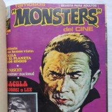 Cómics: MONSTERS FAMOSOS DEL CINE 3 VOL. N 1 - 24 COLECCIÓN COMPLETA AÑO 1975 - 1977. Lote 287104938