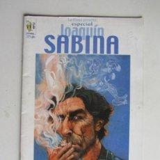 Comics: ESPECIAL JOAQUÍN SABINA - LA PLAGA - 2001 DSVID LOPEZ RARO! ARX106. Lote 287138258
