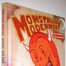 Cómics: MONSTRUOS MODERNOS! - JORDI COSTA Y DARIO ADANTI - ILUSTRADO. Lote 287236508