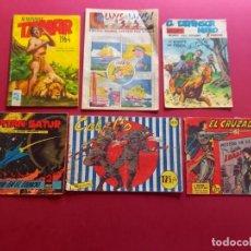 Comics: LOTE DE 6 TEBEOS ANTIGUOS. Lote 287674538