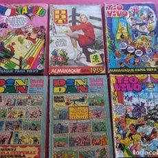 Comics: LOTE DE 6 TEBEOS ANTIGUOS. Lote 287675348