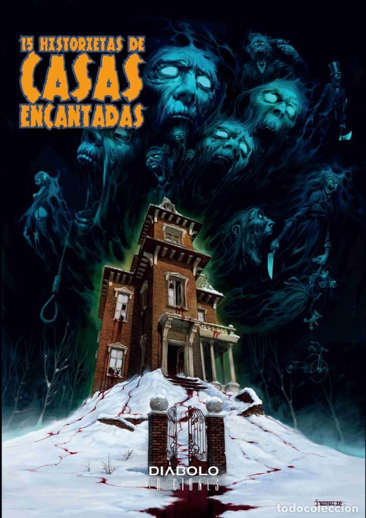 15 HISTORIETAS DE CASAS ENCANTADAS - DIABOLO (Tebeos y Comics - Comics otras Editoriales Actuales)