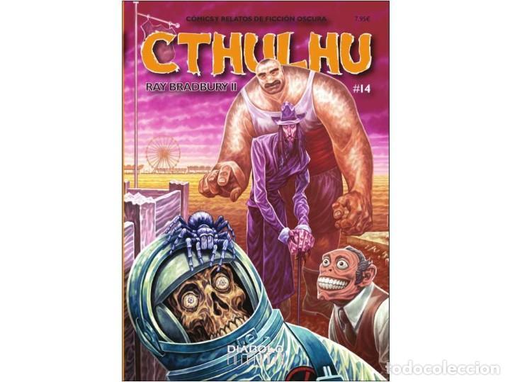 CTHULHU. 14 CÓMICS Y RELATOS DE FICCIÓN OSCURA. - DIABOLO (Tebeos y Comics - Comics otras Editoriales Actuales)