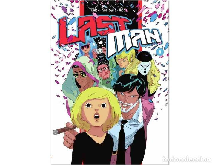 LASTMAN TOMO 5 - VIVÉS, SANLAVILLE Y BALAK - DIABOLO (Tebeos y Comics - Comics otras Editoriales Actuales)
