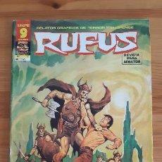 Cómics: COMICS. REVISTA PARA ADULTOS. RUFUS Nº51. Lote 287710698