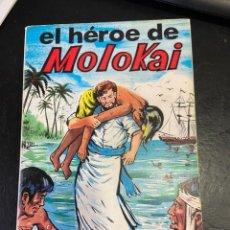 Cómics: EL HEROE DE MOLOKAI TEBEO UNICO BUEN ESTADO. Lote 287760418