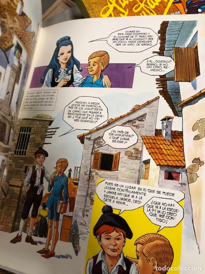 Cómics: 1978 cómic las aventuras de Pinocho - edotrial r m - art studium - Foto 2 - 287791473