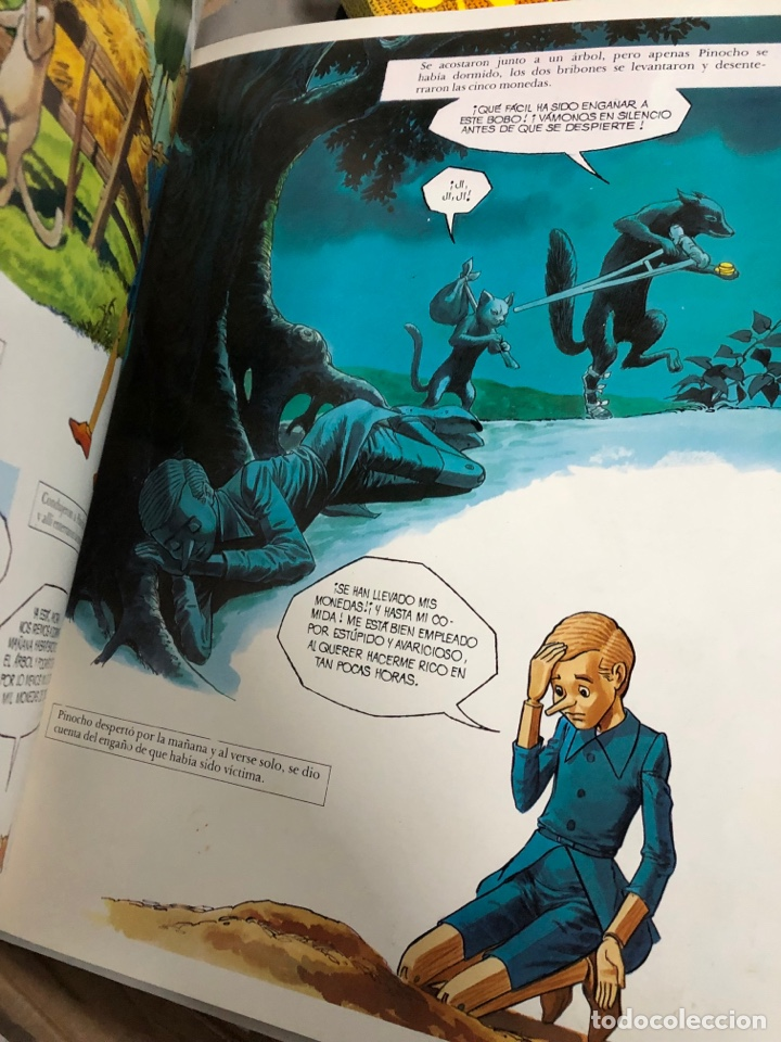 Cómics: 1978 cómic las aventuras de Pinocho - edotrial r m - art studium - Foto 3 - 287791473