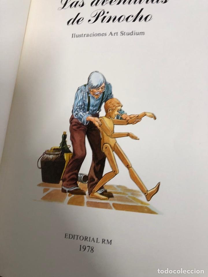 Cómics: 1978 cómic las aventuras de Pinocho - edotrial r m - art studium - Foto 4 - 287791473