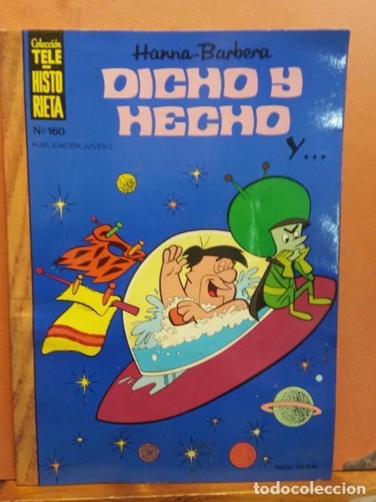 DICHO Y HECHO. HANNA BARBERA. Nº160. EDICIONES RECREATIVAS (Tebeos y Comics Pendientes de Clasificar)