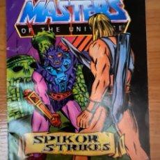 Cómics: MASTERS OF UNIVERSE MINI COMIC. `SPIKOR STRIKES` 1984.. Lote 287895143