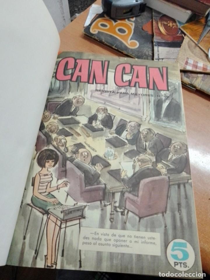 Cómics: REVISTAS ENCUADERNADAS DE CAN-CAN - 2 TOMOS -- VER DESCRIPCION - Foto 4 - 287899763