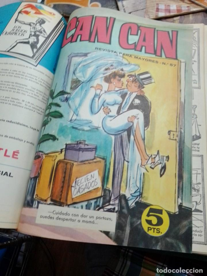 Cómics: REVISTAS ENCUADERNADAS DE CAN-CAN - 2 TOMOS -- VER DESCRIPCION - Foto 5 - 287899763