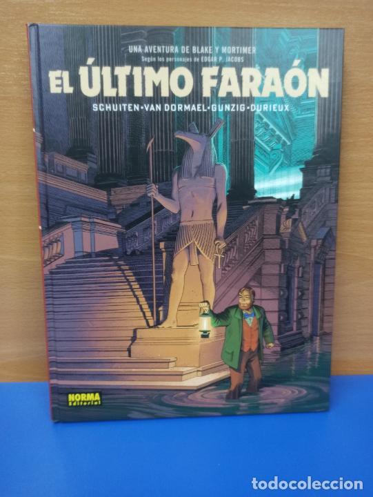 COMIC TBO TAPA DURA EL ULTIMO FARAON BLAKE Y MORTIMER ED NORMA (Tebeos y Comics Pendientes de Clasificar)