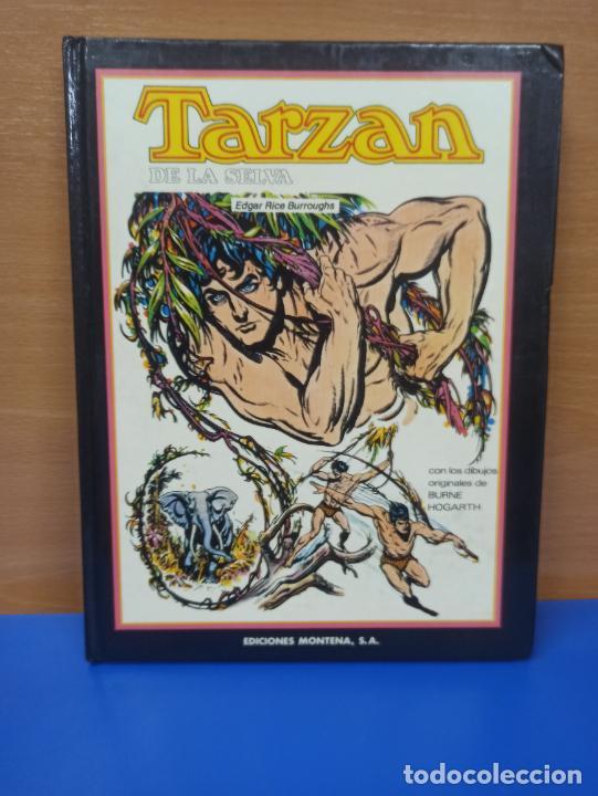 COMIC TBO TAPA TARZAN DE LA SELVA ED MONTENA (Tebeos y Comics Pendientes de Clasificar)