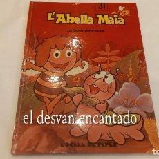 Cómics: L´ABELLA MAIA. L´OCELL DE PAPER. ABEJA MAYA EN CATALÁN. PERFECTO ESTADO. TAPAS DURAS. Lote 287902273