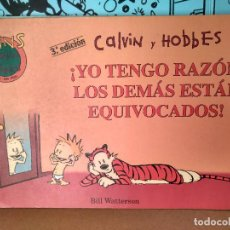 Cómics: CALVIN Y HOBBES 2, YO TENGO RAZON LOS DEMAS ESTAN EQUIVOCADOS . COLECCION FANS. Lote 287902978