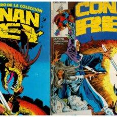Comics: CONAN REY. COLECCIÓN DE 66 NÚMEROS 1 AL 66 MENOS EL 26 Y 27. FORUM. LEER. Lote 287935558