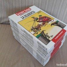 Cómics: LUCKY LUKE - COLECCIÓN COMPLETA A FALTA DE 2 NÚMEROS - PLANETA DEAGOSTINI. Lote 288058428
