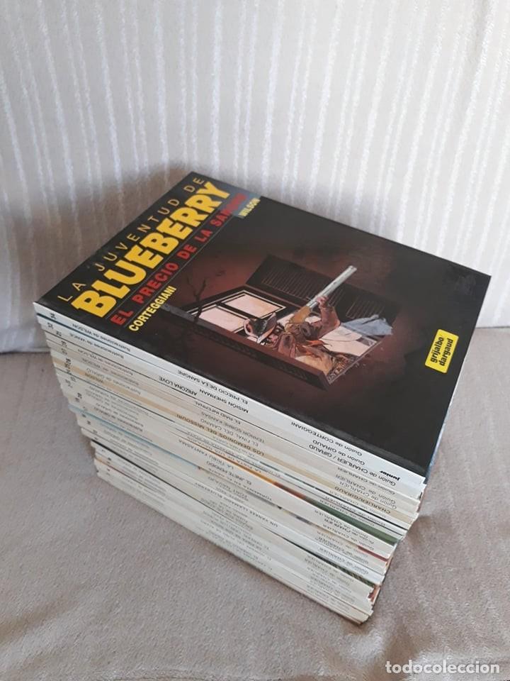 EL TENIENTE BLUEBERRY: GRAN LOTE DE 31 TOMOS - GRIJALBO (Tebeos y Comics - Comics Colecciones y Lotes Avanzados)