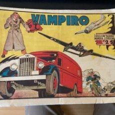 Cómics: EL VAMPIRO Nº 1 COLECCION COMPLETA NUMERO ESPECIAL BUEN ESTADO BERGIS. Lote 288065453