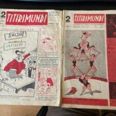 Cómics: TITIRIMUNDI Nº 1 Y 5 BUEN ESTADO. Lote 288069498