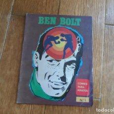 Cómics: BEN BOLT Nº 1 EDICIONES MAISAL 1976. Lote 288209523