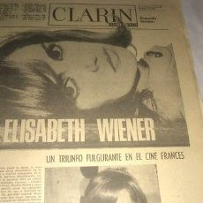Cómics: CLARIN ESPEC 1969 RAPHAEL MANDRAKE CHASMAN CHIROLITA OLMEDO. Lote 288261513