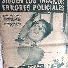 Cómics: ASI 118 MAR DEL PLATA EN EL PASADO ELVIS PRESLEY MANZANERO. Lote 288282613