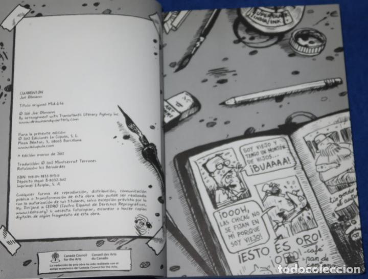Cómics: Cuarenton - Joe Ollmann - Ediciones La Cúpula (2012) - Foto 3 - 288359933