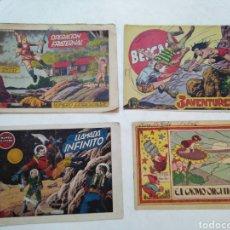 Cómics: LOTE DE 4 CÓMIC VARIADOS ( DE LA ÉPOCA ). Lote 288409923