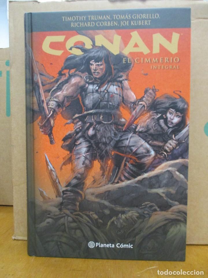CONAN EL CIMMERIO - INTEGRAL - PLANETA / DARK HORSE - 648 PAGINAS (Tebeos y Comics - Comics otras Editoriales Actuales)