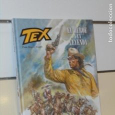 Comics: TEX EL HEROE Y LA LEYENDA PAOLO ELEUTERI TOMO CARTONÉ BONELLI COMICS - ALETA OFERTA. Lote 288535018