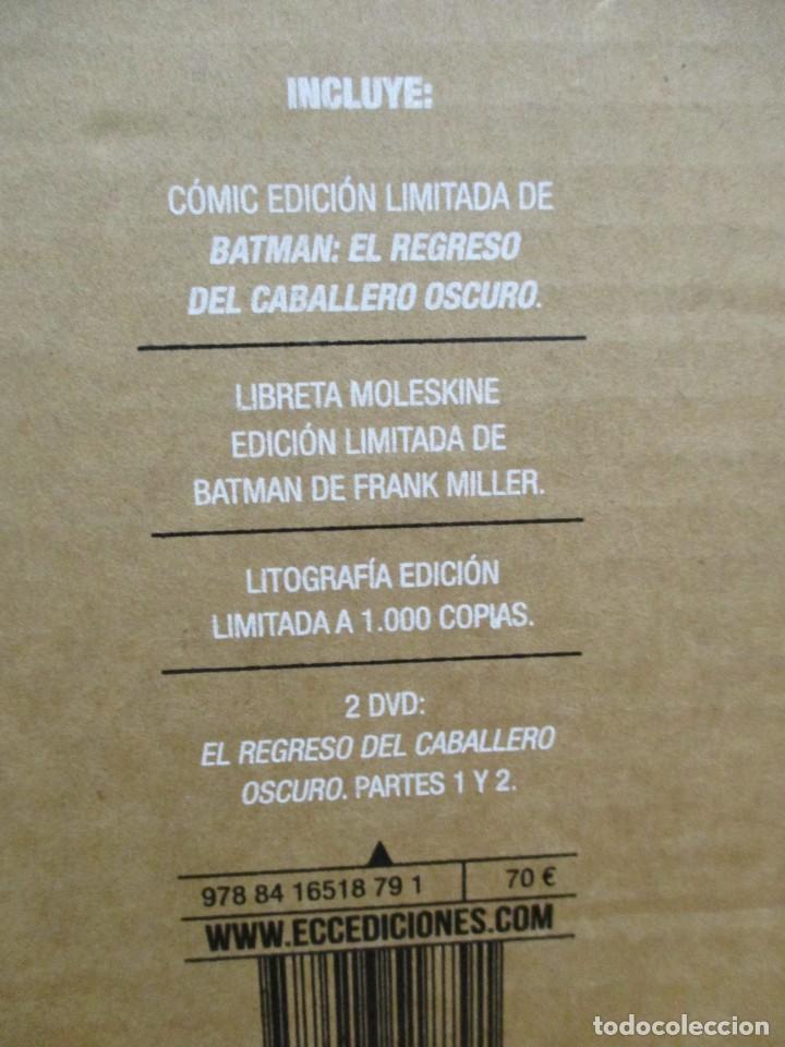 Cómics: BATMAN 30 ANIVERSARIO - EL REGRESO DEL CABALLERO OSCURO EDICION LIMITADA 1000 EJEMPLARES - Foto 3 - 288535838