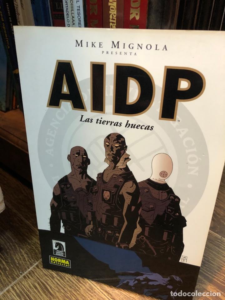 AIDP MIKE MIGNOLA LAS TIERRAS HUECAS (COMPLETA) (Tebeos y Comics - Comics Colecciones y Lotes Avanzados)