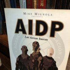 Cómics: AIDP MIKE MIGNOLA LAS TIERRAS HUECAS (COMPLETA). Lote 288550428