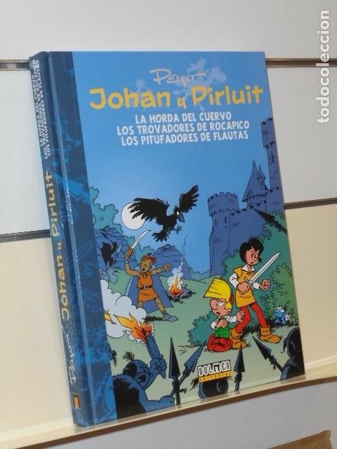 JOHAN Y PIRLUIT INTEGRAL VOLUMEN 6 LA HORDA DEL CUERVO Y.. CARTONÉ - DOLMEN OFERTA (ANTES 29,95€) (Tebeos y Comics - Comics otras Editoriales Actuales)
