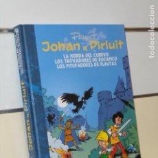Cómics: JOHAN Y PIRLUIT INTEGRAL VOLUMEN 6 LA HORDA DEL CUERVO Y.. CARTONÉ - DOLMEN OFERTA (ANTES 29,95€). Lote 288557913