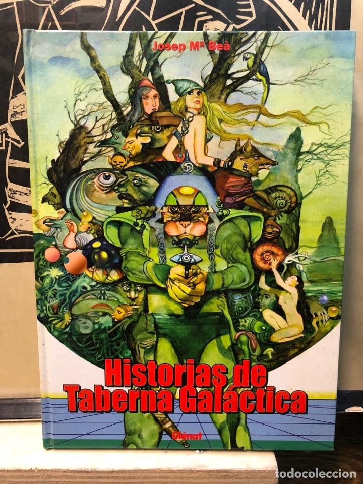 HISTORIAS DE LA TABERNA GALÁCTICA, JOSEP MARIA BEÀ, GLÉNAT (Tebeos y Comics - Comics Colecciones y Lotes Avanzados)
