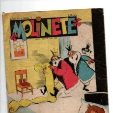 Cómics: MOLINETE. AÑO VI, Nº 1. 1958. Lote 288563868