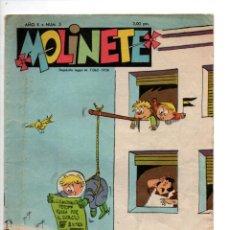 Cómics: MOLINETE. AÑO X, Nº 5. 1958. Lote 288564063