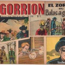 Cómics: 1955 EL GORRION # 1168 RED RYDER EL ZORRO BEN BOLT PRINCIPE VALIENTE EL CAPITAN Y SUS SOBRINOS. Lote 288577363