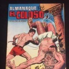 Cómics: ALMANAQUE EL COLOSO. Lote 288579183