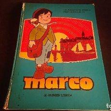 Cómics: TEBEO MARCO , JAMES LIBROS 1977 , TAPA DURA , LEER DESCRIPCION. Lote 288580508