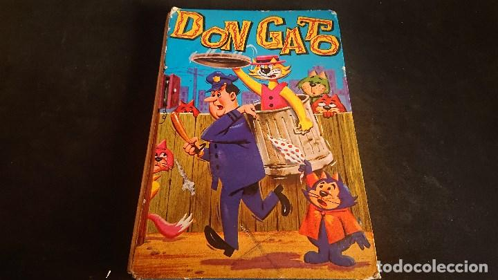 TEBEO DON GATO 1967 , EDITORIAL FHER , TAPA DURA , LEER DESCRIPCION (Tebeos y Comics Pendientes de Clasificar)